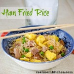 Ham Fried Rice | realmomkitchen.com