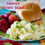 Laura's Potato Salad | realmomkitchen.com
