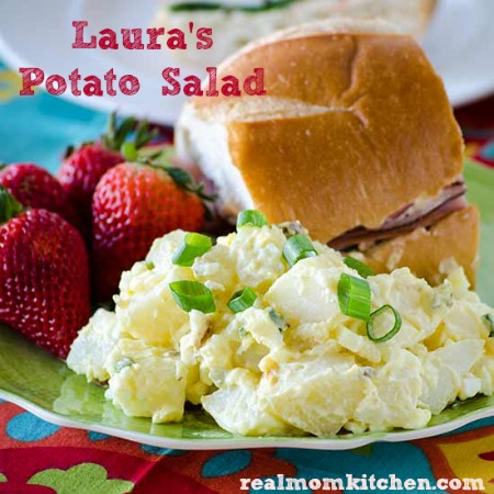 Laura's Potato Salad | realmomkitchen.com