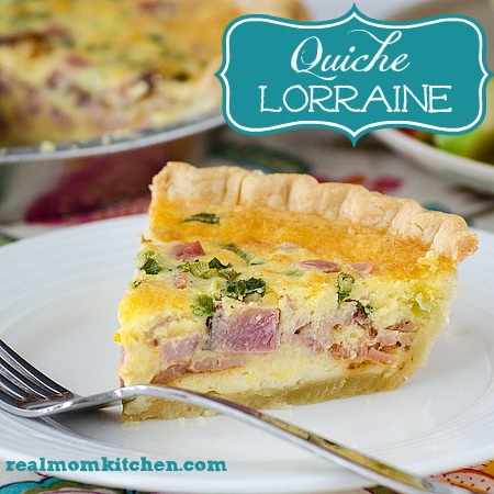 Lion House Quiche Lorraine | realmomkitchen.com