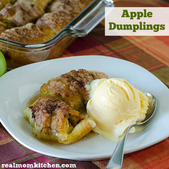 Apple Dumplings | realmomkitchen.com