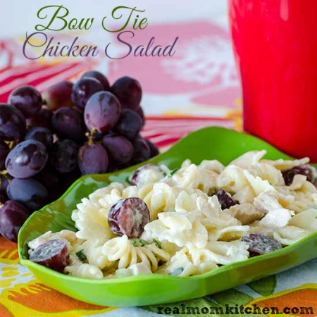 Bow Tie Chicken Salad | realmomkitchen.com