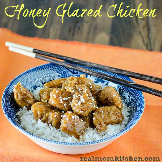 Honey Glazed Chicken | realmomkitchen.com