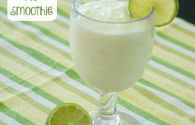 Key Lime Pie Smoothie | realmomkitchen.com
