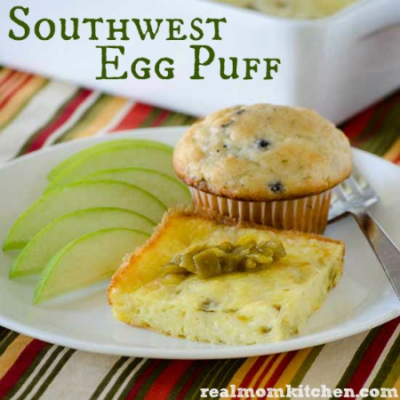 Southwest Egg Puff | realmomkitchen.com