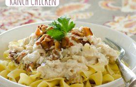 Creamy Ranch Chicken | realmomkitchen.com