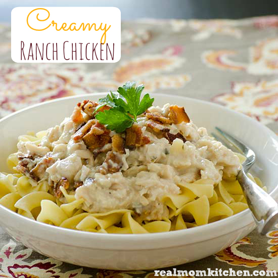 Creamy Ranch Chicken | realmomkitchen.com