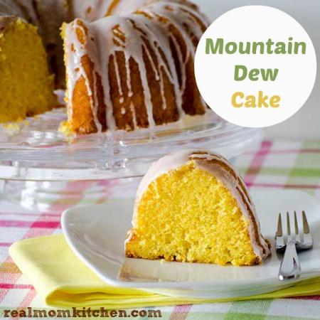 Mountain Dew Cake | realmomkitchen.com