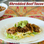 Shredded Beef Tacos | realmomkitchen.com