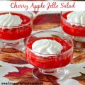 Cherry Apple Jello Salad | realmomkitchen.com