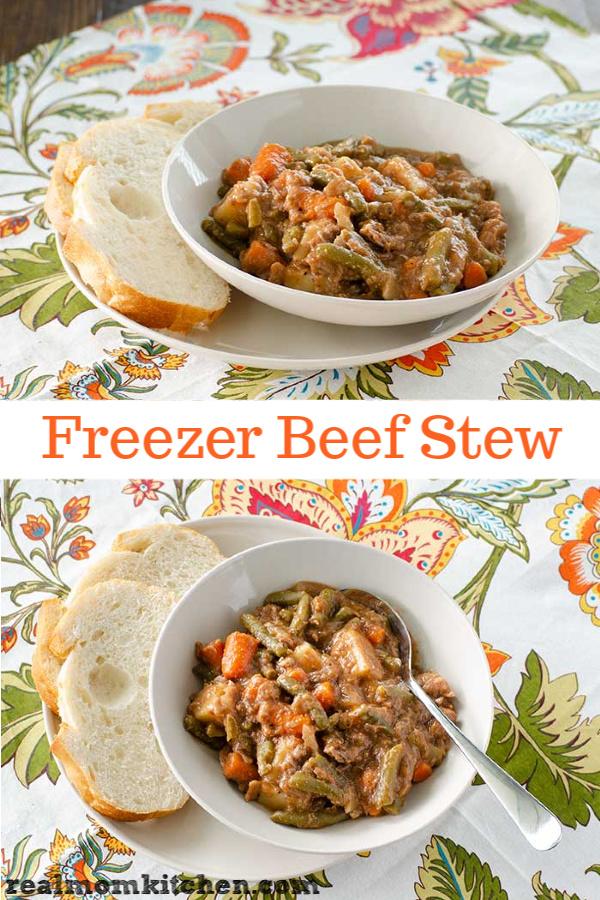 Freezer Beef Stew | realmomkitchen.com