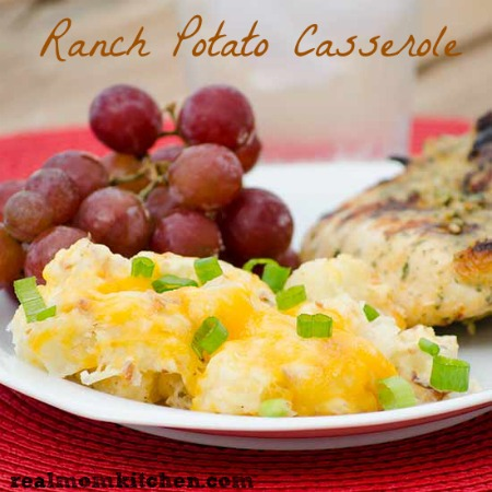 Ranch Potato Casserole | realmomkitchen.com