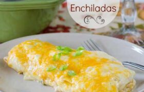 Sour Cream Enchiladas | realmomkitchen.com