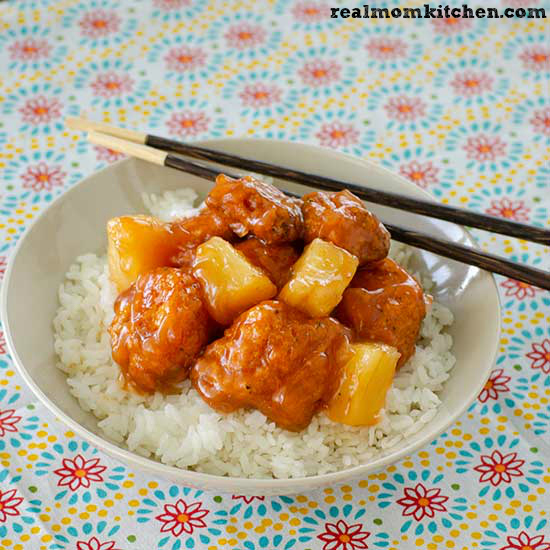 Sweet and Sour Chicken   realmomkitchen.com