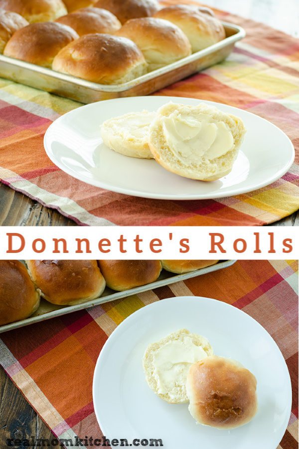 Donnette's Rolls | realmomkitchen.com