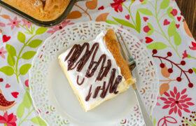 Eclair Torte | realmomkitchen.com