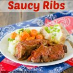 Saucy Ribs   realmomkitchen.com