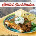 Skillet Enchiladas | realmomkitchen.com