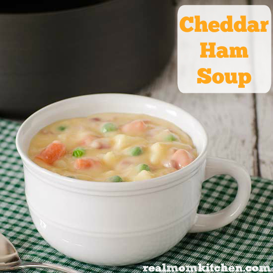 Cheddar Ham Soup | relmomkitchen.com