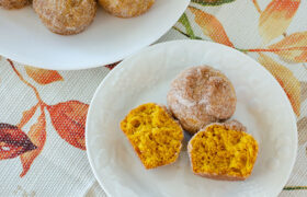 Pumpkin Breakfasts Puffs | realmomkitchen.com