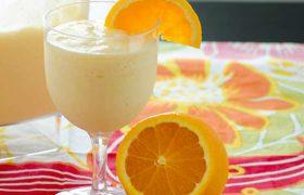 Orange Blender Drink   realmomkitchen.com