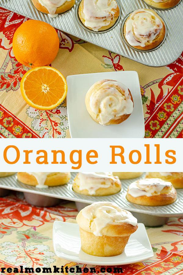 Orange Rolls | realmomkitchen.com