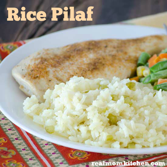 Rice Pilaf | realmomkitchen.com