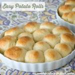 Easy Potato Rolls | realmomkitchen.com