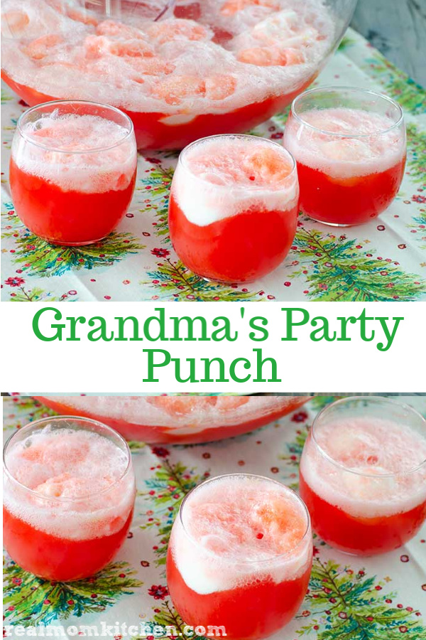 Grandma's Party Punch | realmomkitchen.com