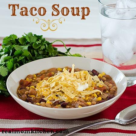Taco Soup | realmomkitchen.com