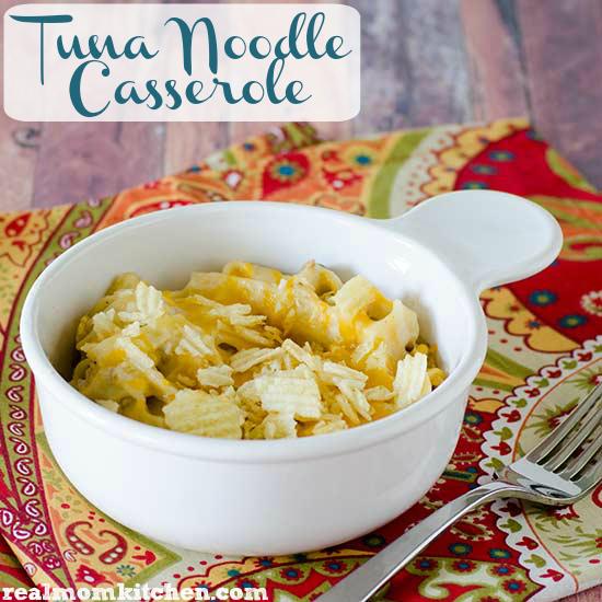 Tuna Noodle Casserole | realmomkitchen.com