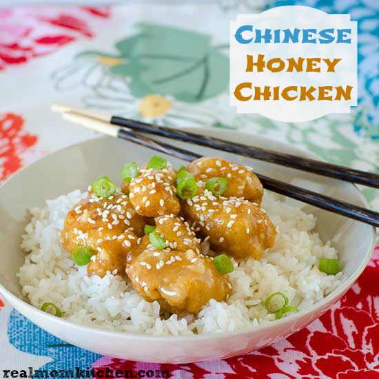 Chinese Honey Chicken Sauce | realmomkitchen.com