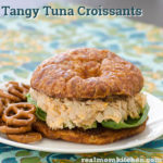 Tangy Tuna Croissants | realmomkitchen.com