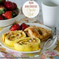 Ham and Cheese Omelet Roll | realmomkitchen.com