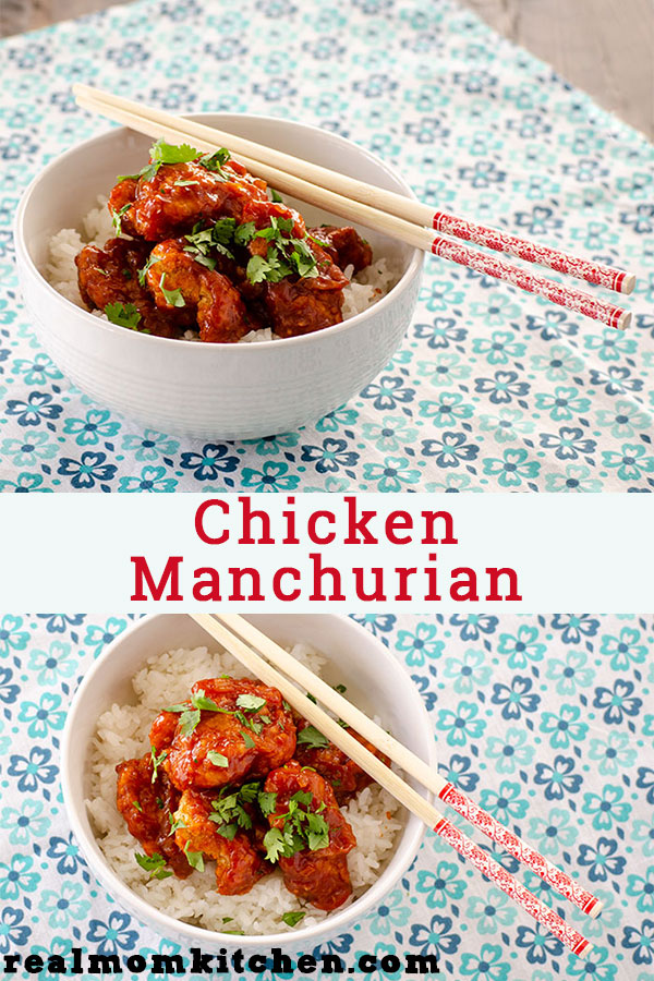 Chicken Manchurian | realmomkitchen.com