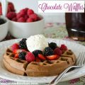 Chocolate Waffles | realmomkitchen.com