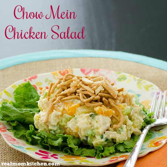 Chow Mein Chicken Salad | realmomkitchen.com