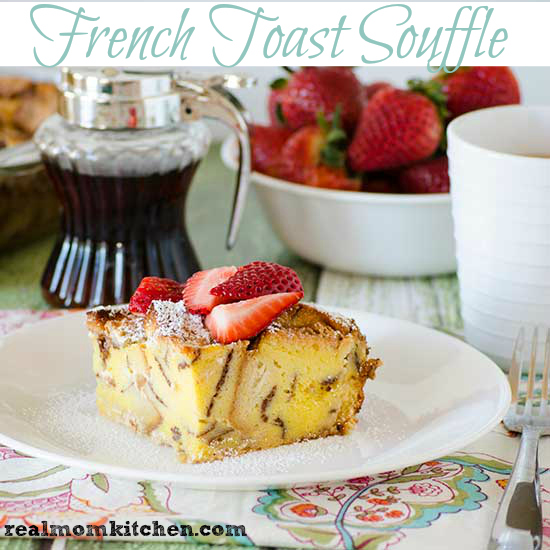 French Toast Souffle | realmomkitchen.com