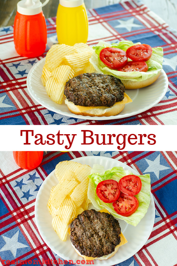 Tasty Burgers | realmomkitchen.com