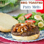 BBQ Toasted Patty Melts | realmomkitchen.com