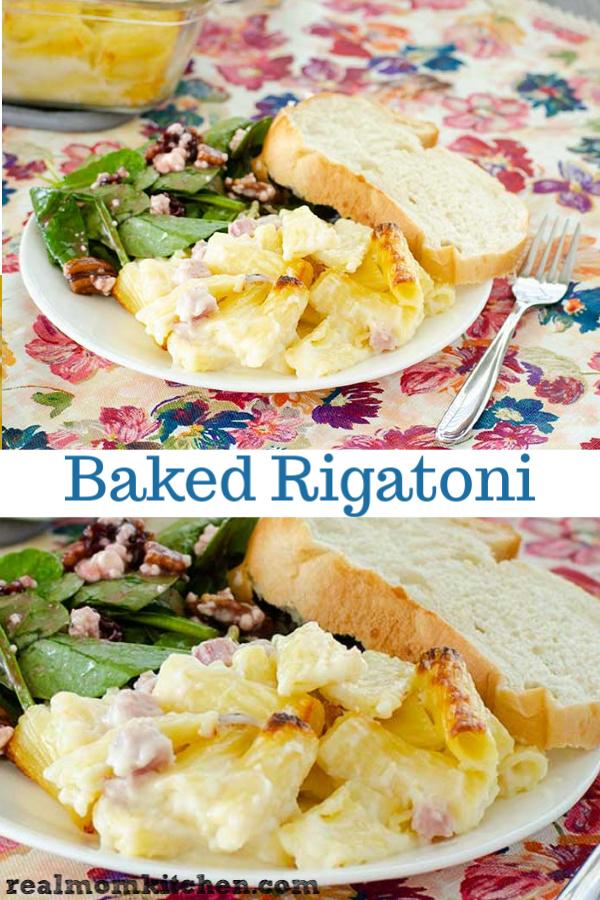 Baked Rigatoni | realmomkitchen.com