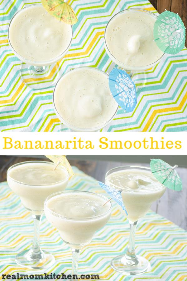 Bananarita Smoothies | realmomkitchen.com