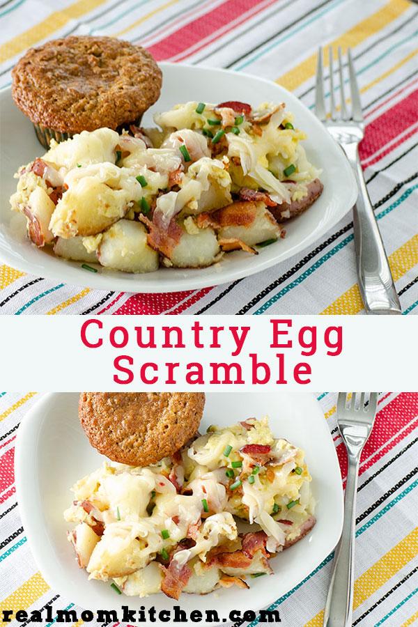 Coountry Egg Scramble | realmomkitchen.com