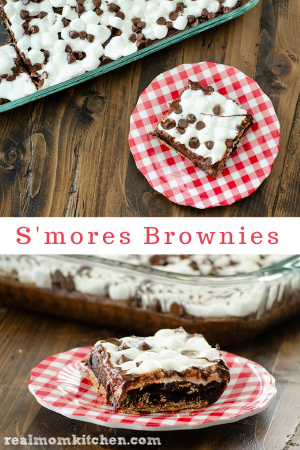 S'mores Brownies | realmomkitchen.com