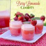 Berry Lemonade Coolers | realmomkitchen.com