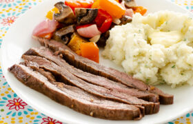 Marinated Flank Steak | realmomkitchen.com