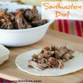 Southwestern Beef | realmomkitchen.com
