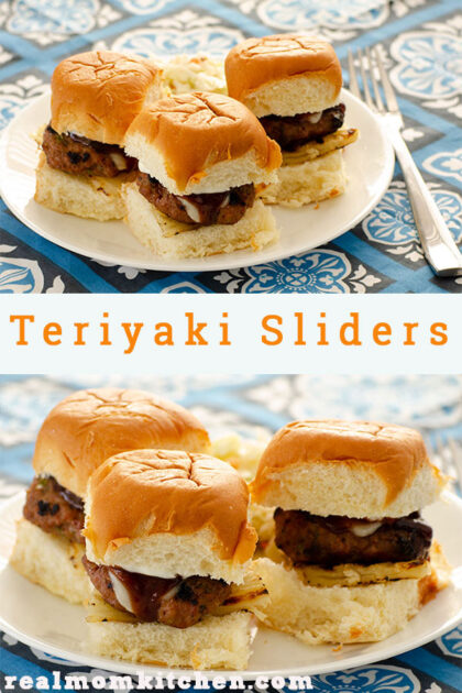 Teriyaki Sliders | realmomkitchen.com