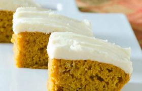 Pumpkin Bars (2 Ways) | realmomkitchen.com | realmomkitchen.com