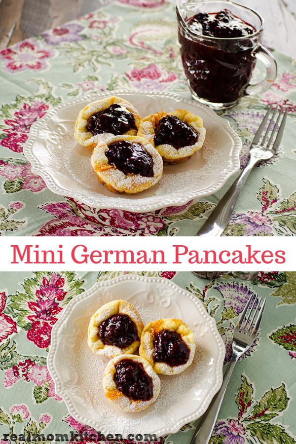 Mini German Pancakes | realmomkitchen.com